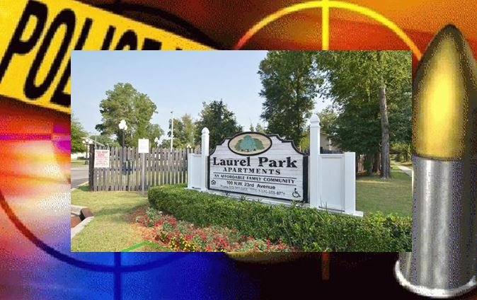 Shooting at Laurel Park Apartments