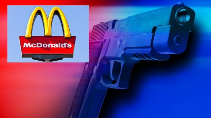 McDonald's management did not immediately report attempted armed robbery