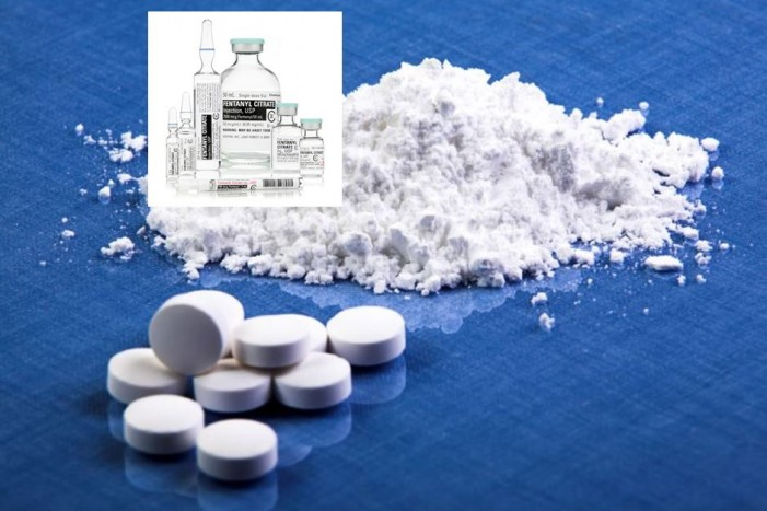 DEA warning about the Schedule II narcotic fentanyl