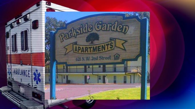 Baby found unresponsive at Parkside Gardens Apartments