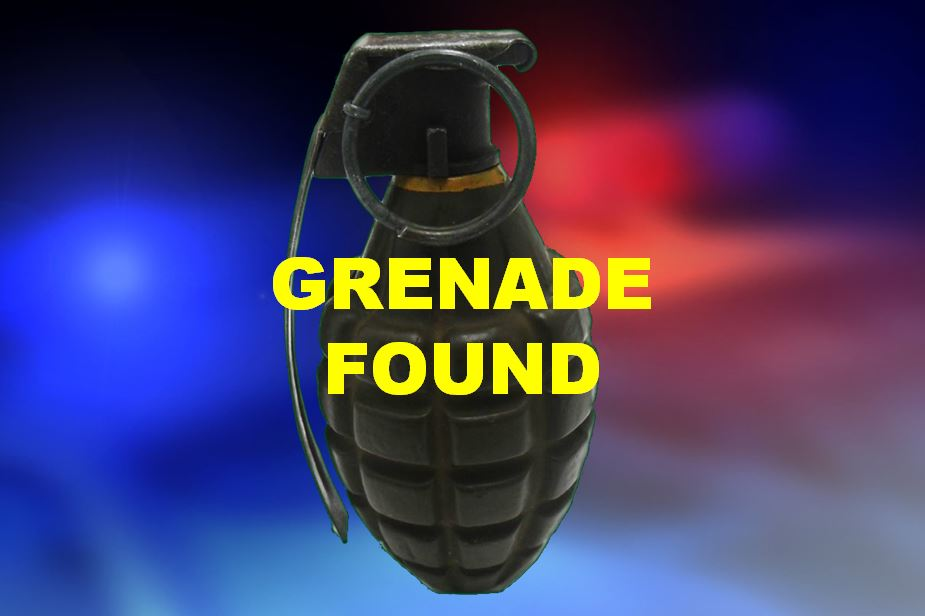 ocala news, marion county, pineapple grenade found, grenade,