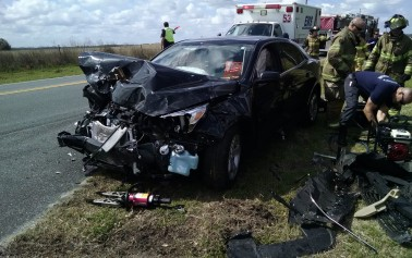 West Port Students injured in early morning crash