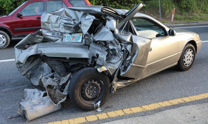 Ocala Post Car Accident On Cr 484 Entrance Of Marion Oaks