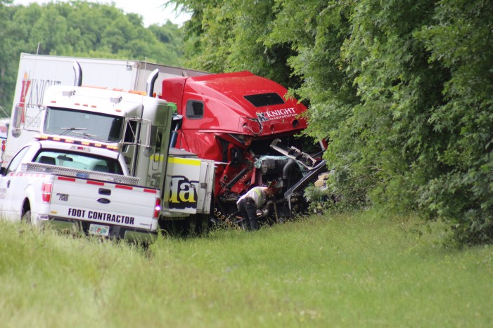 Ocala Post - Fatal: 4-vehicle crash on I-75 near mile marker 367