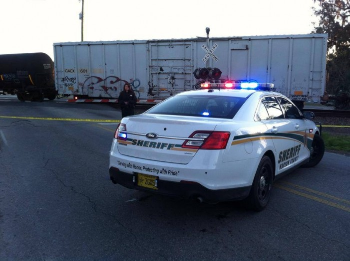 Woman hit by train identified