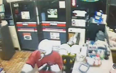 Kangaroo gas station robbed at gunpoint