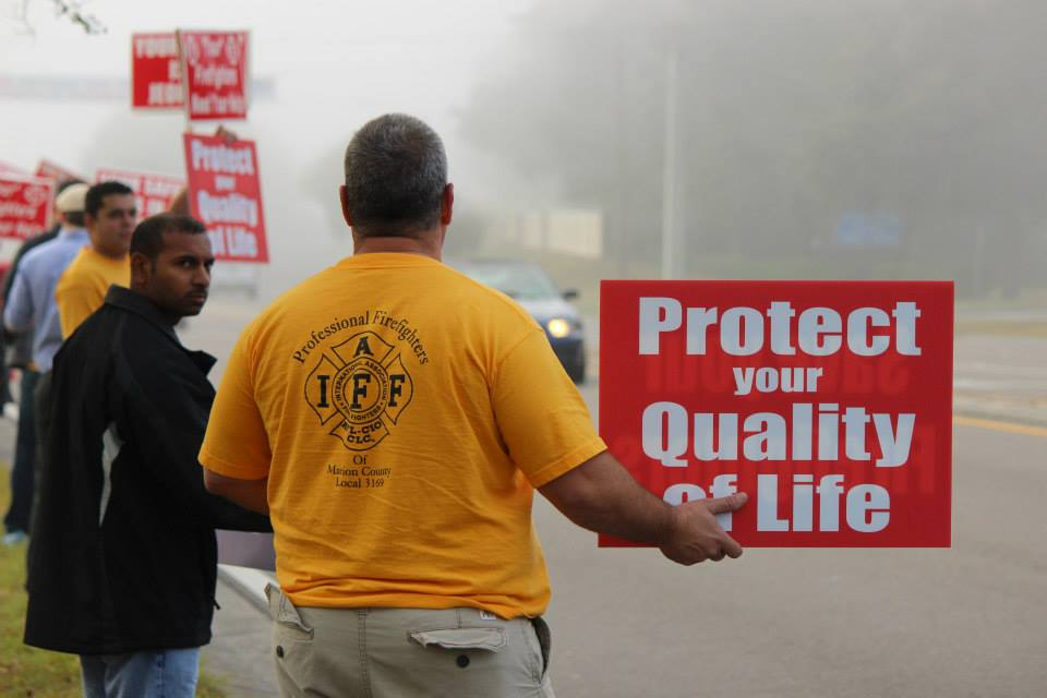 ocala news, firefighters, marion county news, mcfr, higher pay wages