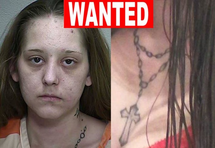 Woman, 25,  wanted on multiple warrants