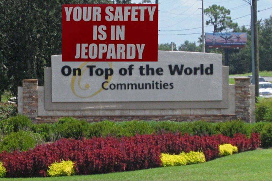 ocala news, firefighters, mcfr, marion county fire rescue, marion county news, fire, on top of the world communities
