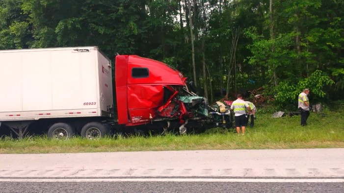 Fatal: 4-vehicle crash on I-75 near mile marker 367
