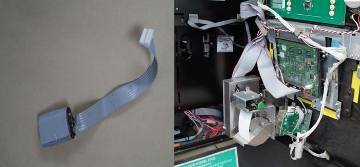 Fourth credit card skimmer found