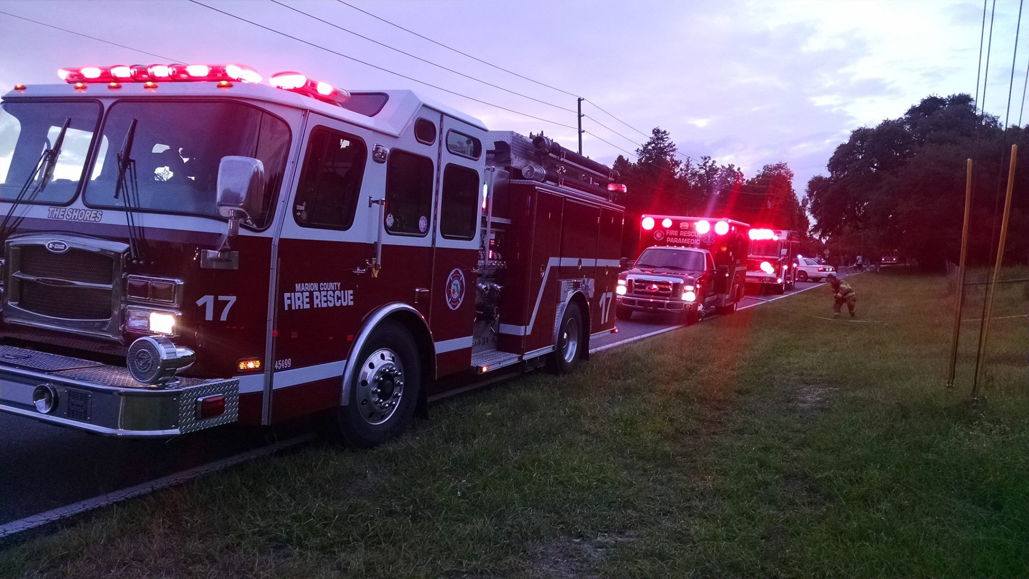 MCFR, ocala news, marion county, car crash, car accident, speeding
