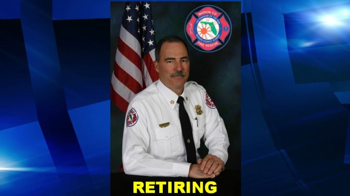 Marion County Fire Rescue fire chief announces retirement