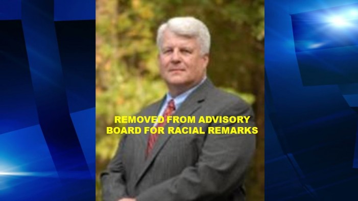 "Marcel ""Butch"" Verrando removed from advisory board for racial remarks"