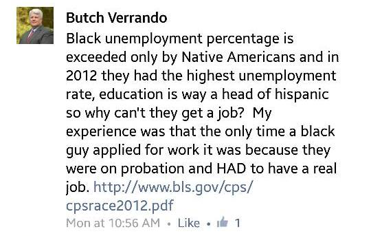 "Marcel ""Butch"" Verrando, ocala news, ocala post, marion county news, racial remarks"
