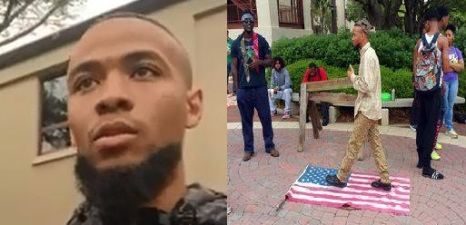 terrorist, Eric Sheppard, stomp on american flag, ocala news, marion county news, valdosta news