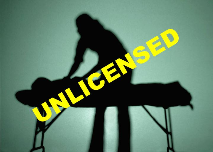 unlicensed massage therapist, florida, ocala news, orlando news, marion county news,