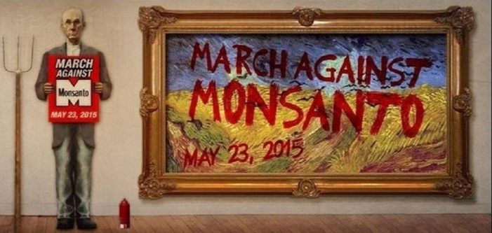 Upcoming March Against Monsanto event in protest of GMOs