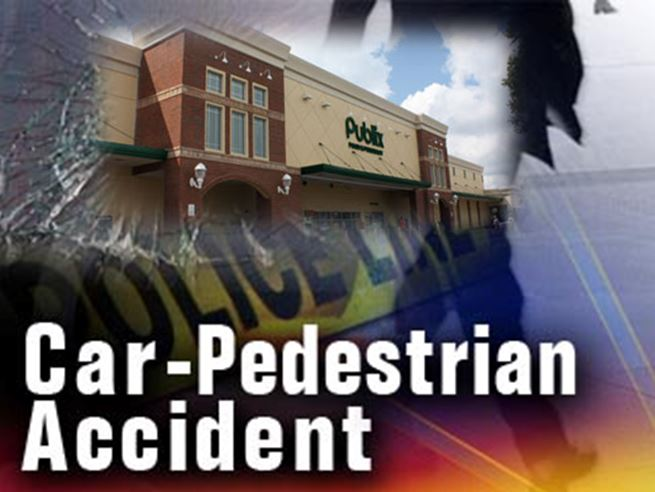 Woman in critical condition after being struck by car at Publix