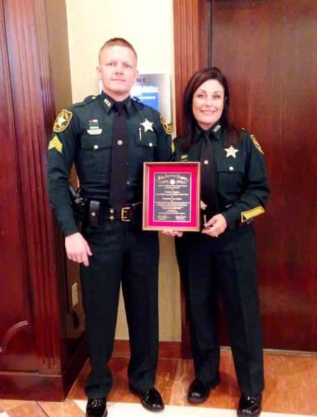 MCSO sergeant honored with award from American Legion
