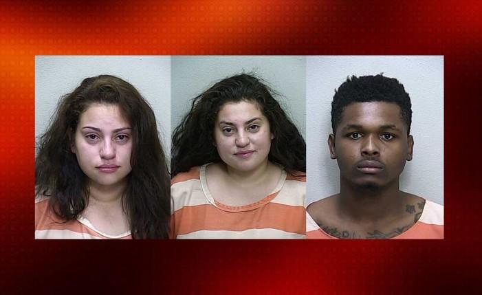 Three arrested after disturbance at Carrington Lane Apartments