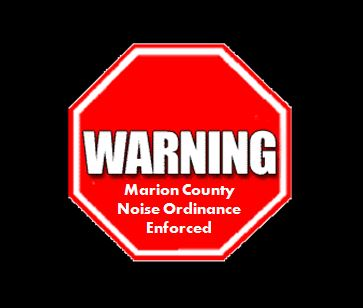 Marion County Noise Ordinance will now be enforced
