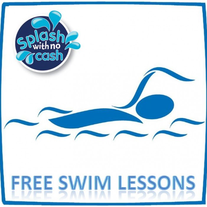 Free swimming classes for kids and CPR classes for adults