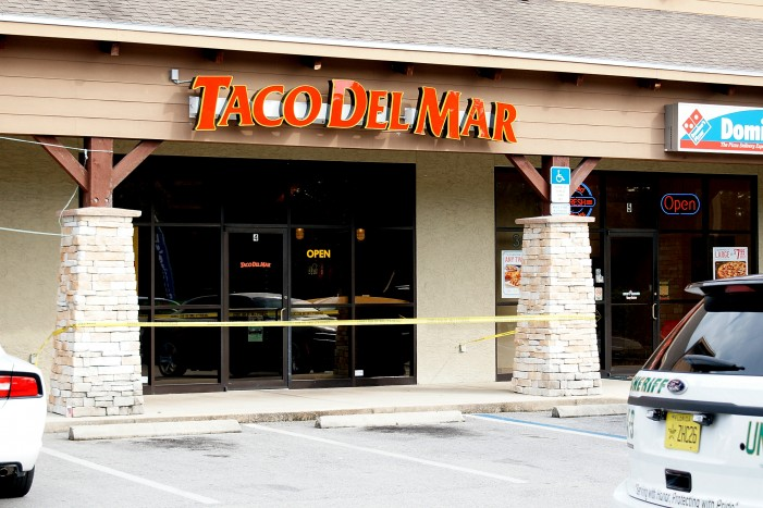 Armed robbery at Taco Del Mar