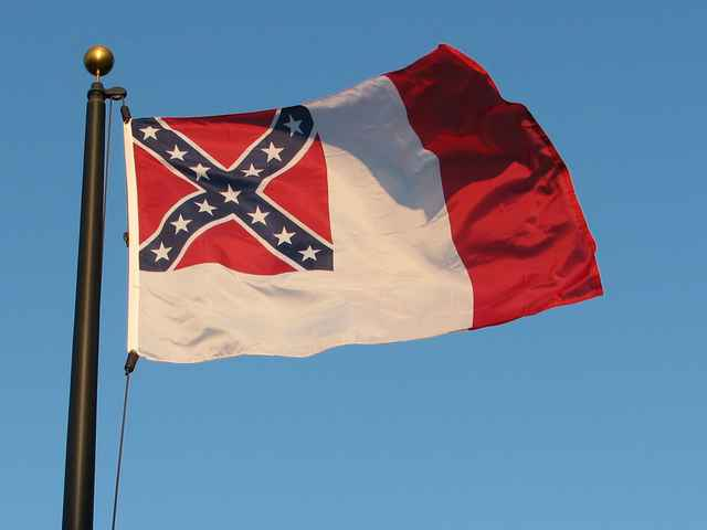 Confederate flag flies at Marion County McPherson Governmental Complex