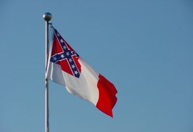 "Protesters say Confederate flag at Marion County complex ""fell"" down"