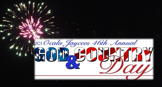 Fireworks: 46th annual God and Country Day festival
