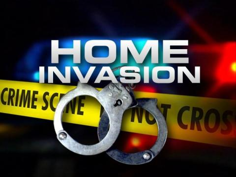 Armed robbery home invasion; suspects on the loose