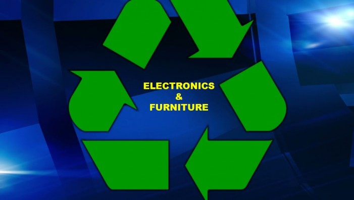 Solid waste events for furniture and electronics