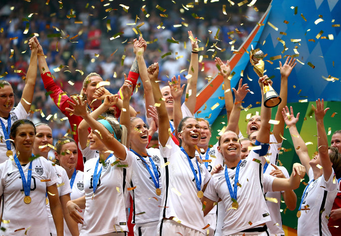 United States wins women's World Cup