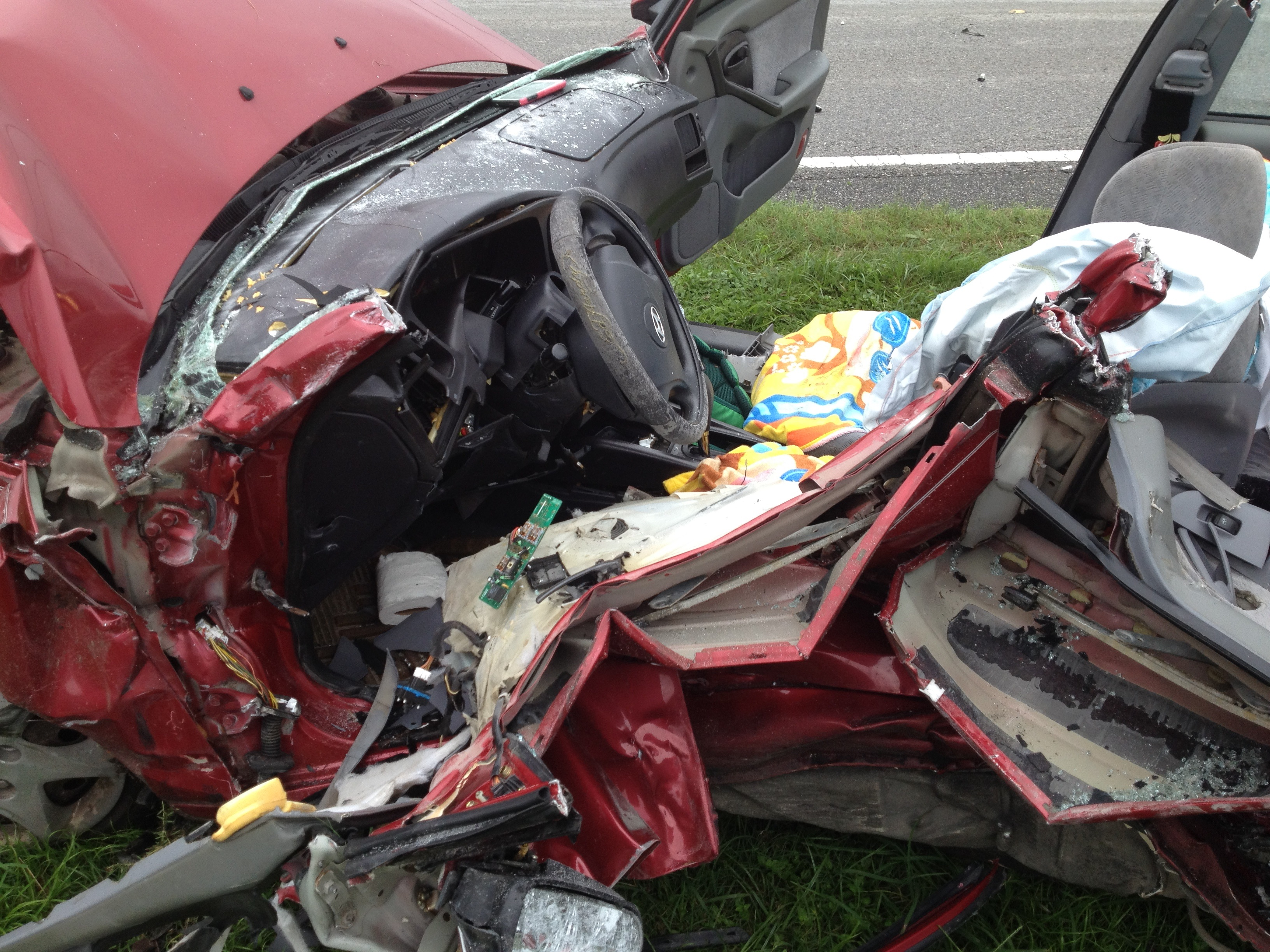 Two critically injured in accident on 225A