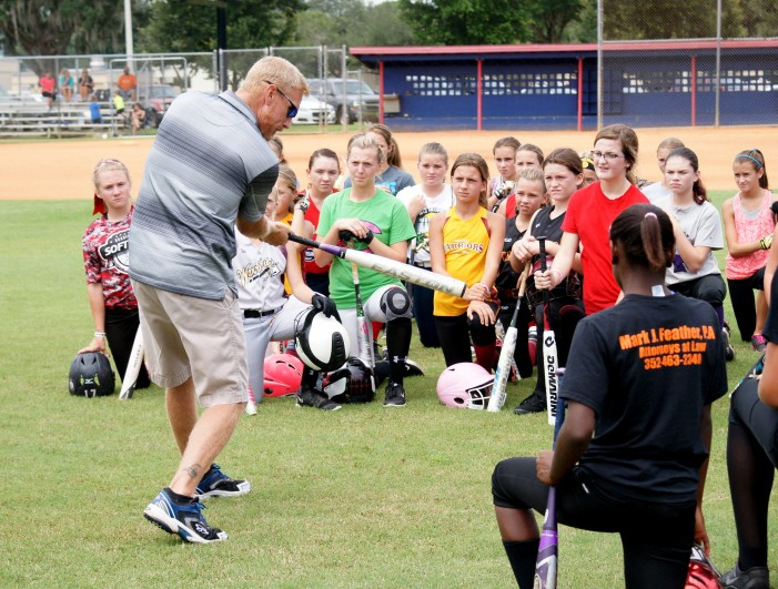 CF hosts softball camps