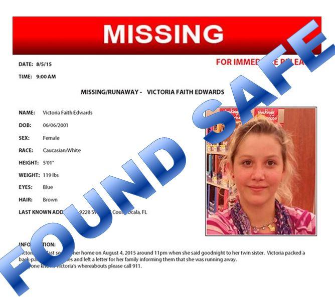Missing Ocala teen found in Washington, suspect arrested