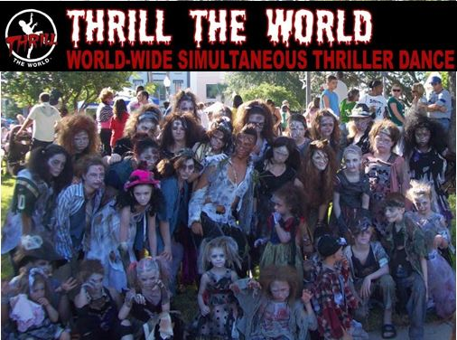 thrill the world 2015, ocala news, marion county news, halloween 2015,