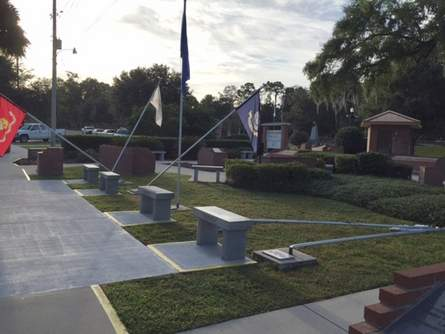 Vandalized again: Ocala-Marion County Veterans Memorial Park