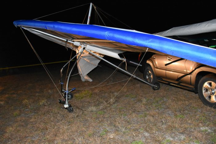 Man dies in hang gliding accident