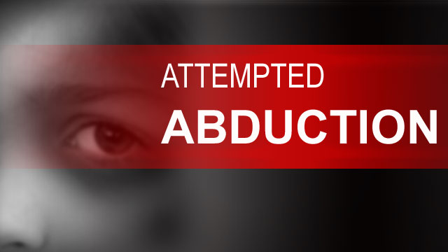 Attempted abduction in Davenport
