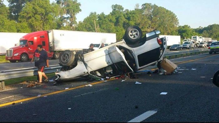 One person and a dog killed, another seriously injured in I-75 crash