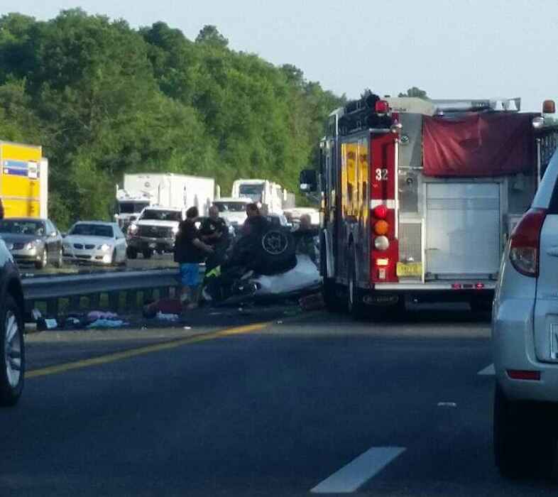 car crash, fatal crash, ocala news, OCALA I-75 ACCIDENTS NEAR EXIT 341