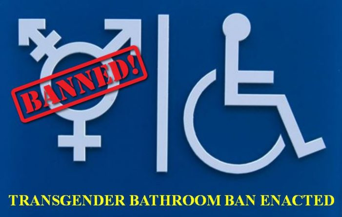 Transgender bathroom ban passes 4-1