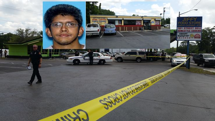 armed robbery, shooting, ocala news, store clerk killed, marion county news, rocky, jiffy store