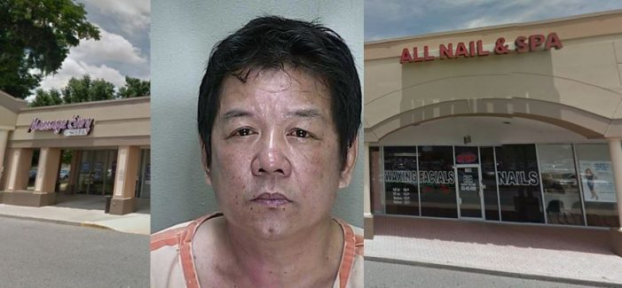 All Nail & Spa employee arrested