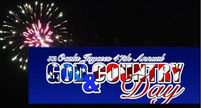2016 Fireworks: 47th annual God and Country Day festival