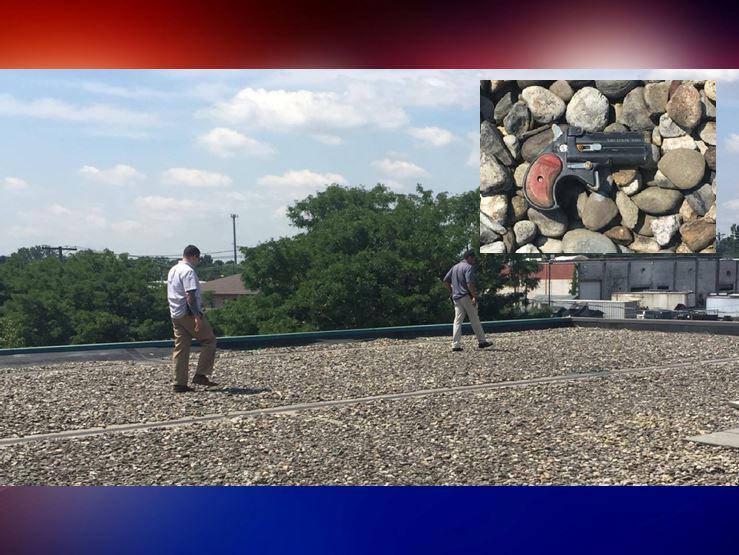 guns, gun found on roof, new jersey news, passiac NJ