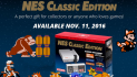 Mini NES Classic Edition system coming soon, pre-order avaialble