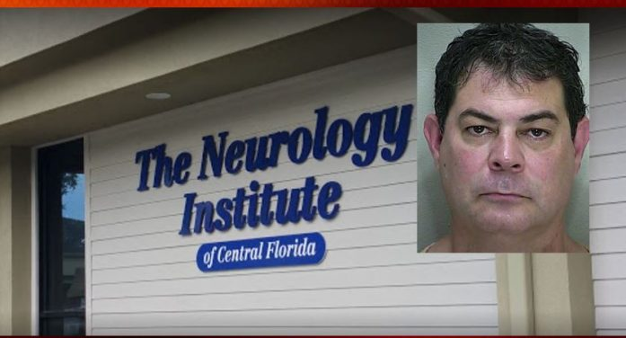 Local neurologist arrested